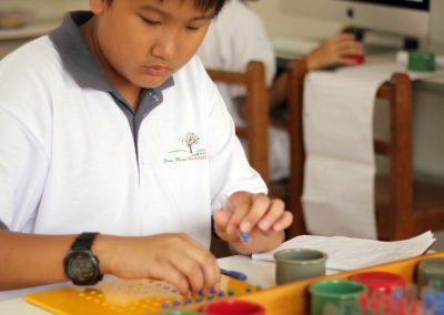 Montessori Long Division